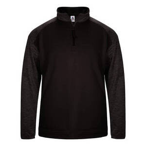 Badger Men's Sport Tonal Blend Fleece 1/4 Zip Pullover