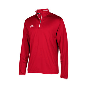 Adidas Men's Long Sleeve Team Iconic 1/4 Zip Pullover