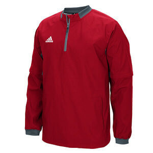 Adidas Men's Fielder's Choice 1/4 Zip Convertible Jacket