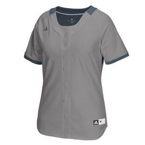 Adidas Women's Diamond Queen 2.0 Full Button Jersey