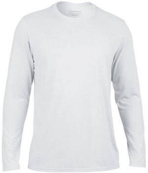 Gildan Men's Performance Longsleeve T-Shirt White