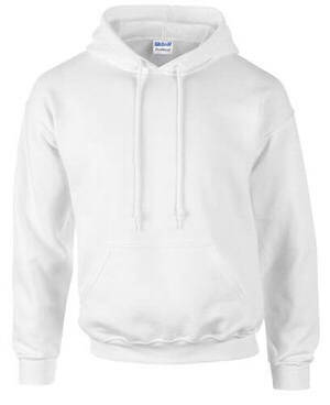Gildan Men's DryBlend Hooded SweatShirt White