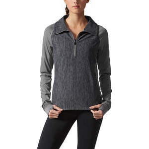 794ce3ccac6a Adidas Women s Performer Baseline 1 4-Zip Pullover