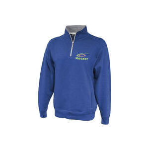 Pennant Men's Throwback Quarter Zip Pullover
