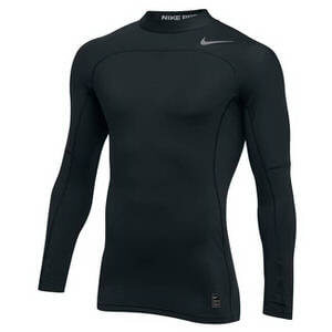 Nike Men's Nike Pro Hyperwarm Top Long Sleeve Compression Mock