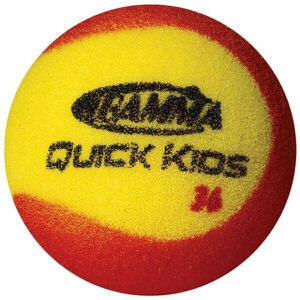 Gamma Quick Kids' 36 Foam Ball (60-pack Poly Bag)