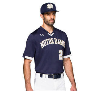 Under Armour Men's V-Neck Baseball Jersey